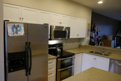 Kirkland Small Transitional Kitchen Reface
