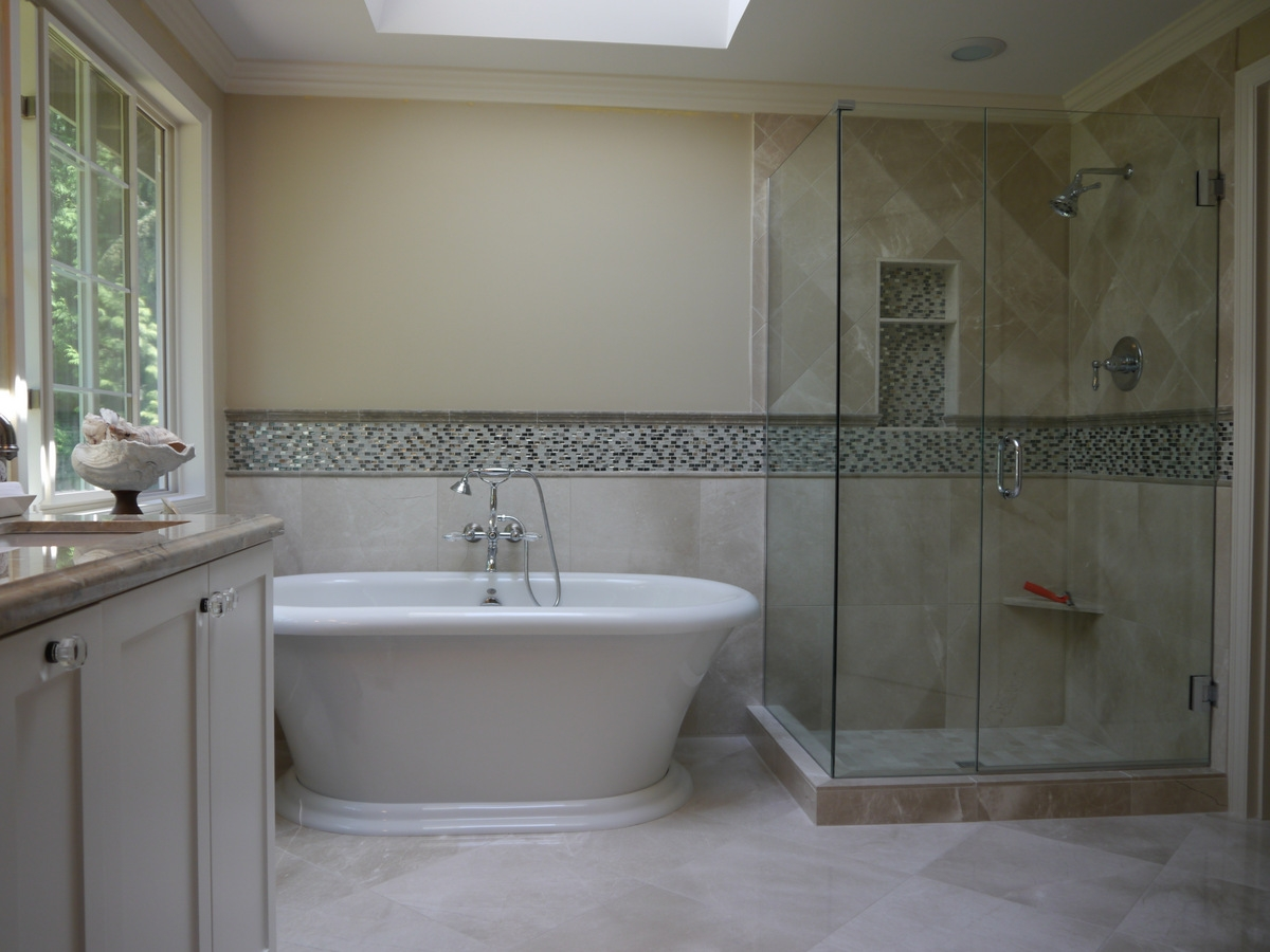 Redmond Classic Master Bath Remodel After