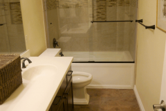 After - Redmond Traditional Guest Bath Remodel