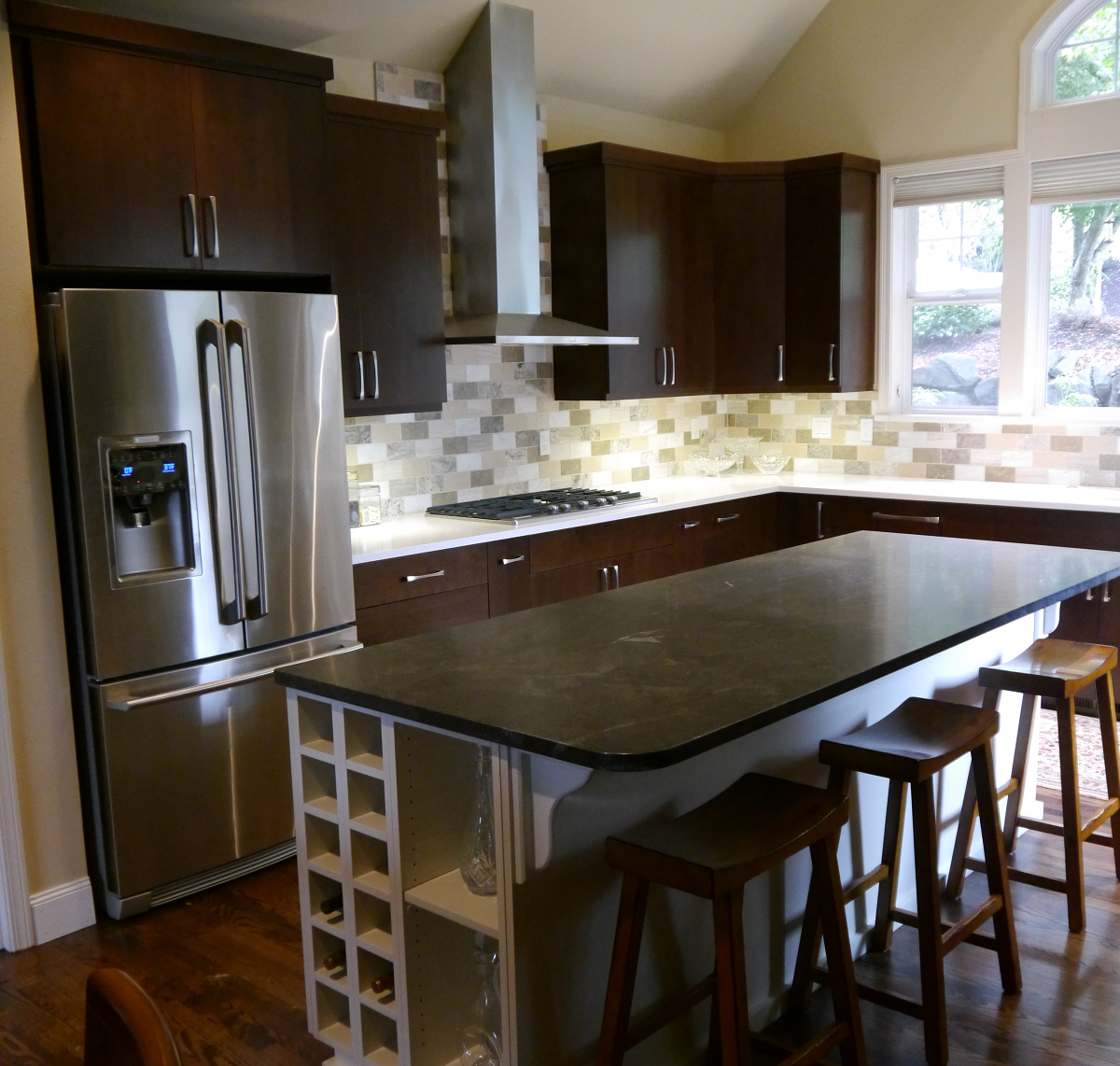 Maple Kitchen Countertops: Sammamish Transitional Kitchen Remodel In Maple