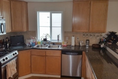 Seattle Condo Traditional Kitchen Reface