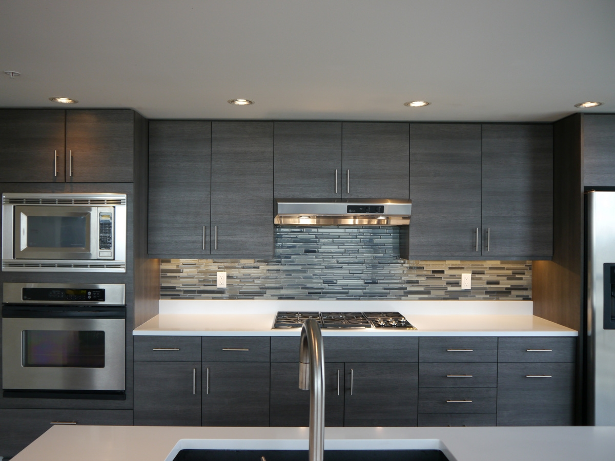 Kitchen Glass Backsplash Designs