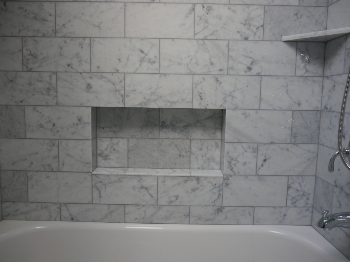 Shower tub niches - Bathtub in shower ...