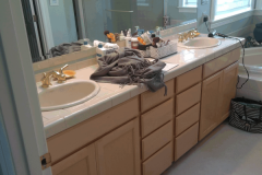 Woodinville Modern Master Bathroom Remodel - Before