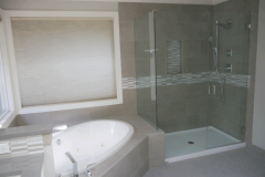 Woodinville Transitional Master Bath Remodel - After