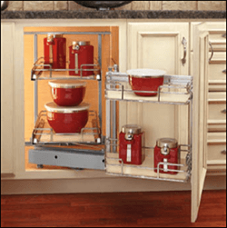 599 Series - Maple Blind Corner Pullout