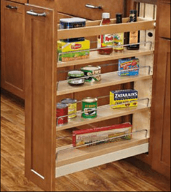 Soft Close Base Cabinet Organizer
