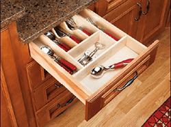 Wood Cutlery Tray Inserts