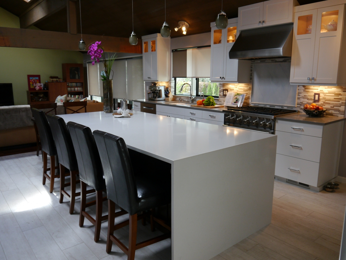Bellevue Clyde Hill Modern Kitchen Remodel