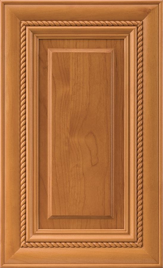 Waldorf Door Alder Honey Stain & Rope Molding Doors