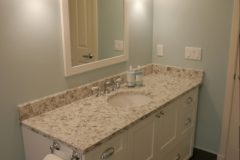 Issaquah Hall Bath Custom Vanity