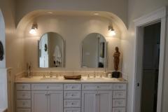 Innis Arden - Shoreline Master Bath Remodel - Vanity Before