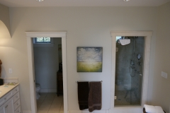 Innis Arden - Shoreline Master Bath Remodel - Shower Wall Before