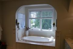 Innis Arden - Shoreline Master Bath Remodel - Tub Wall Before