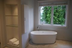 Innis Arden - Shoreline Master Bath Remodel - Tub Wall After