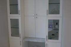 Innis Arden - Shoreline Master Bath Remodel - Makeup Vanity Wall After