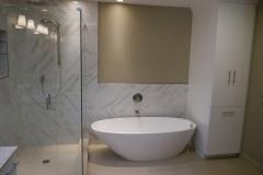Bellevue Master Bath Remodel - Tub & Shower Wall After