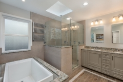 Bellevue Traditional Bath Remodel