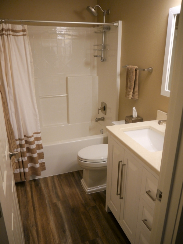 Bellevue Transitional Guest Bathroom Remodel Innovative Kitchen Bath