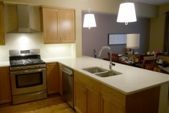Issaquah Townhome Traditional Kitchen Remodel