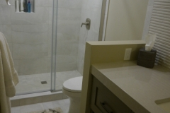 After - Kirkland Transitional Guest Bathroom Remodel