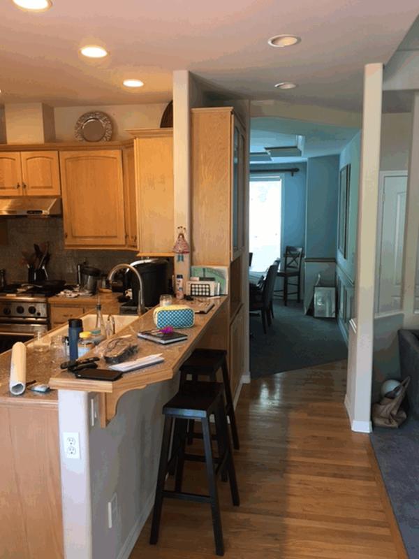 Kirkland Transitional Kitchen Remodel Theril Shaker Cabinets In Satin White Pental Quartz Countertops Serano Backsplash Tile Genesi 26