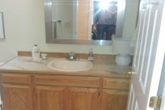 Before - Redmond Transitional Guest Bathroom Remodel