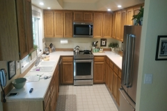 Before - Redmond Transitional Kitchen Reface