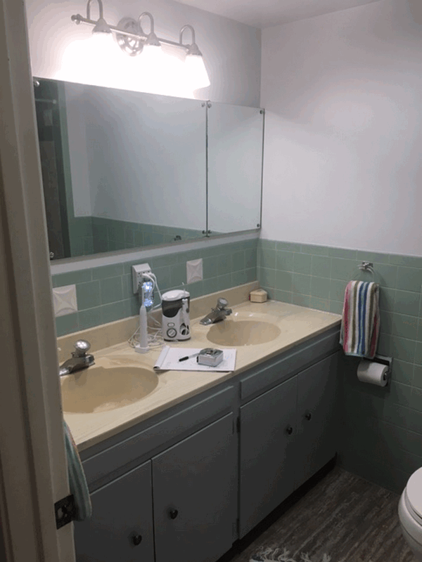 Seattle Transitional Guest Bathroom Remodel | Innovative ...