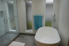 Bellevue - Woodridge Master Bath Remodel - Exterior Wall After