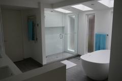Bellevue - Woodridge Master Bath Remodel - New Shower After