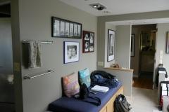 Bellevue - Woodridge Master Bath Remodel - Vanity Wall Before