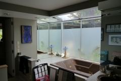 Bellevue - Woodridge Master Bath Remodel - Shower Wall Location Before