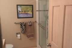 Before - Woodinville Transitional Guest Bathroom Remodel