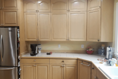 Woodinville Transitional Kitchen Reface -  Before