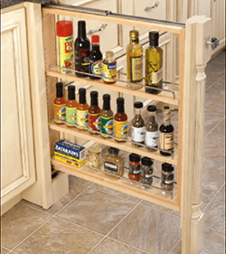 Base Cabinet Filler Pullouts