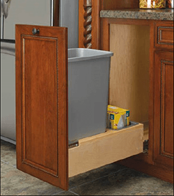 Single 60-Qt. Recycle Pullout Close