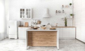 Small kitchen? It can still be beautiful and functional.