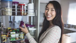 Innovative Kitchen & Bath can help with kitchen storage solutions.