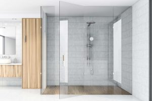 Thresholdless showers create a clean look, and have additional benefits as well.