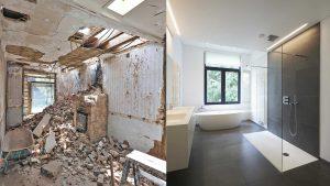 Invest in a modern bathroom remodel or renovation.