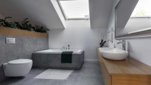With a modern bathroom remodel your bathroom should look more functional and more stylish.