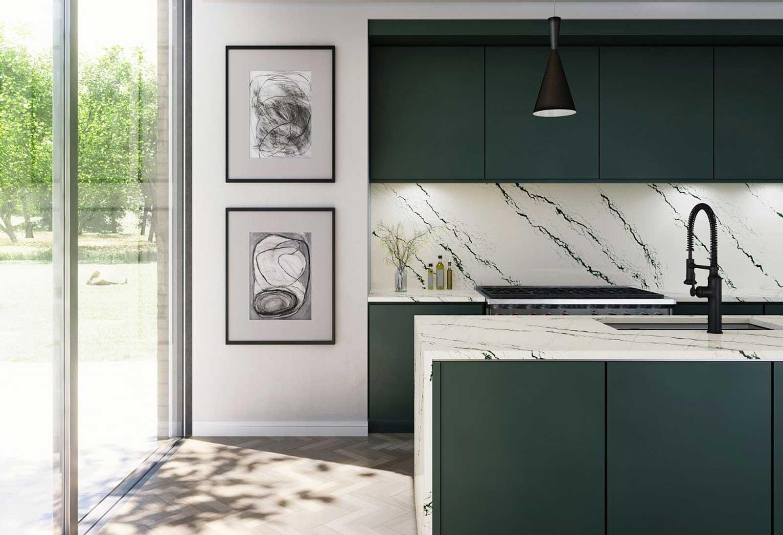 Cambria quartz countertops are the best. Get them from Innovative Kitchen & Bath, a Cambria Premier Dealer.